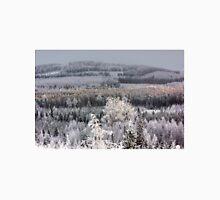Winter forest landscape Unisex T-Shirt