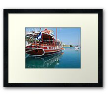 The Captain Hook Framed Print