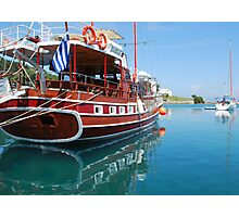 The Captain Hook Photographic Print