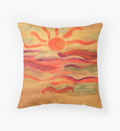 Art Del Sol Throw Pillow
