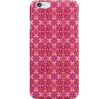 flower chain pink iPhone Case/Skin