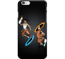 Dual Chell -- Portal iPhone Case/Skin