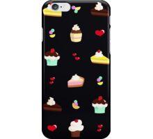 Cakes and cupcakes - dark iPhone Case/Skin