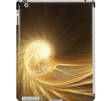 Golden spiral iPad Case/Skin
