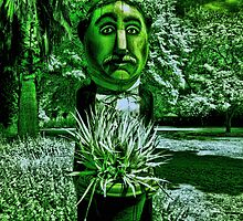 The Man With Green Thumbs (and green everything else!) by lightsmith