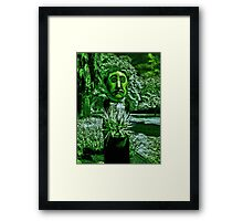 The Man With Green Thumbs (and green everything else!) Framed Print