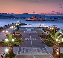 Dusk at Nafplio (Greece) by Yannis Larios