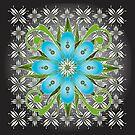 Floral Designs (2) by catherine barnhoorn