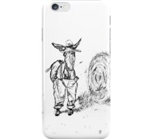 Donkey in a Hat iPhone Case/Skin