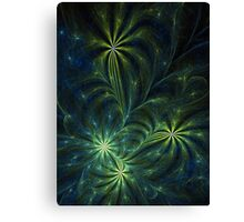 Weed - Abstract Fractal Artwork Canvas Print