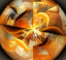 Smiles - Abstract Fractal Artwork by EliVokounova