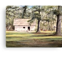 The Old Spanish House Canvas Print