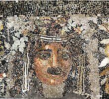 Mosaic, Delos Island, Greece by Christopher Biggs