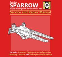 Sparrow Service and Repair Manual Kids Tee