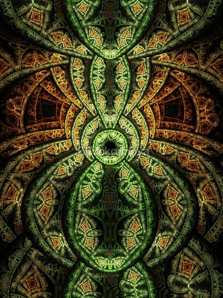 Jungle - Abstract Fractal Artwork by EliVokounova