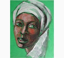 Green Eyes - Portrait Of A Woman Unisex T-Shirt