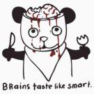 brains taste like smart by Paul McClintock