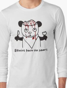 brains taste like smart Long Sleeve T-Shirt