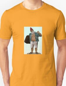 Hawaiian Surfer Garden Gnome Unisex T-Shirt