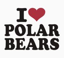 I love Polar Bears Kids Tee