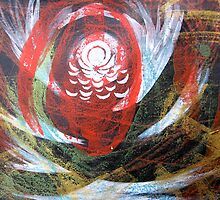 Meditation/Intention Painting Session 20 : 1 by jon  cooney