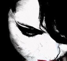 Dark doll Sticker