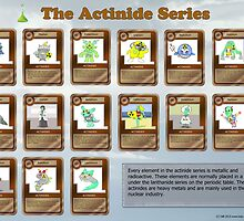 Actinide Series poster by ElementsUD