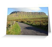 Benbulben mountain 2 Greeting Card