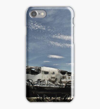 boat abandoned iPhone Case/Skin