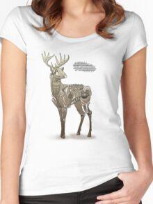 Robodeer3000 Women's Fitted Scoop T-Shirt