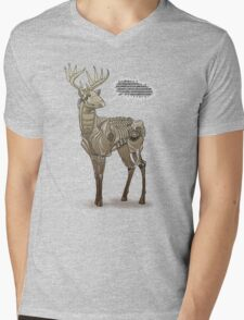 Robodeer3000 Mens V-Neck T-Shirt