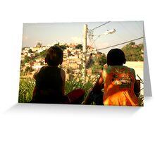 Favela Boys Greeting Card