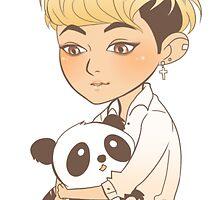 EXO Panda Tao by Sasha Elizabeth