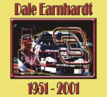 Dale Earnhardt Senior 1951 - 2001 by woodywhip