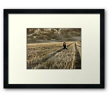 Lost Soul    (collaboration with Shelly Hiebert) Framed Print