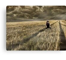 Lost Soul    (collaboration with Shelly Hiebert) Canvas Print