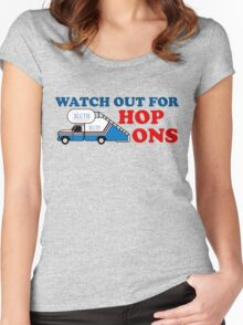 Watch out for Hop Ons Women's Fitted Scoop T-Shirt