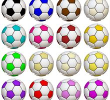 Soccer Balls by BuzzEdition