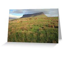 Benbulben mountain 5 Greeting Card