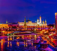 Calendar Moscow Kremlin 2015 and 2016 by luckypixel