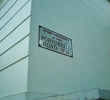 Portabello Road - London by clarebearhh