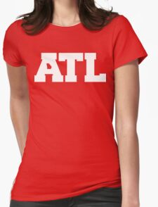 ATL GA Womens Fitted T-Shirt