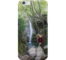Naiad in the wind iPhone Case/Skin