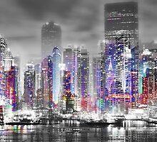 The Night City by NeilHemsleyArt