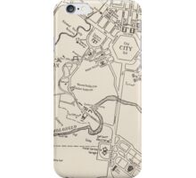 Touring Canberra 1950 iPhone Case/Skin