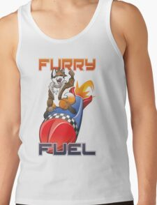 Furry Fuel 2015 Edition Logo Only Tank Top