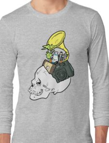 In My Skull Made of Bones  Long Sleeve T-Shirt