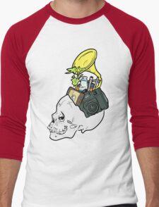 In My Skull Made of Bones  Men's Baseball ¾ T-Shirt