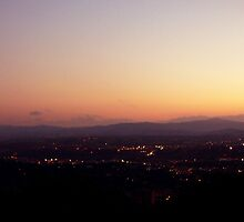 Perugia by night by nathanw08