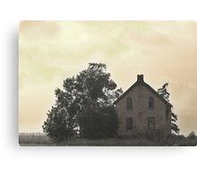 Highland House Canvas Print